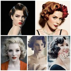 1950s Glamorous HairStyle Inspiration: Sculptured Waves: http://stylenoted.com/1950s-glamorous-hairstyle-inspiration-sculptured-waves/#