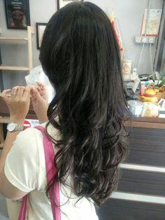 Digital perm asian hair google search hair styles pinterest digital perm mixture of big curl and small curl solutioingenieria Choice Image