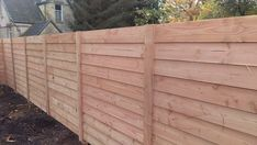 Privacy Walls, Privacy Fences, Outdoor Wood Projects, Pallet Projects, Douglas Wood, Fence Styles, Garden Deco, Composite Decking, Garden In The Woods