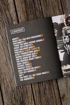 Newschoolers Yearbook by Crésus , via Behance