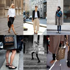"""""""If You're Thinking About…..Leopard Print"""" The Sartorialist - i never grow tired of this trend!"""