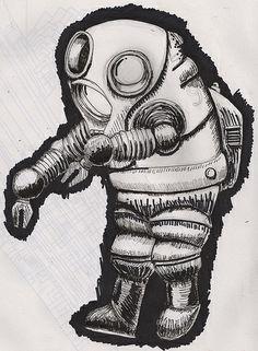 sketch for large woodcut   Flickr: partage de photos!