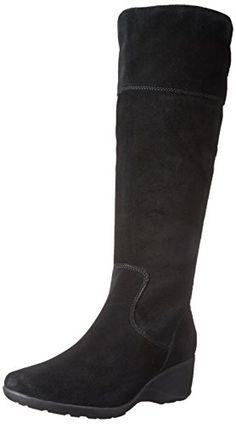 Clarks Women's Allura Starlit Winter Boot, Black Suede, 8 M US CLARKS http://www.amazon.com/dp/B00U5T4W50/ref=cm_sw_r_pi_dp_9PhNwb1X2QT5R