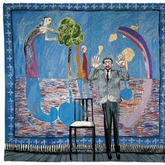 david hockney tapestry - Google zoeken