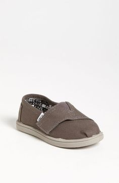 TOMS 'Classic - Tiny' Slip-On (Baby, Walker & Toddler) | Nordstrom  Frankie has a pair being shipped as we speak!