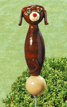 Stelen-Hund - Im Vorgarten eine tolle Begrüßung für Ihre Gäste.