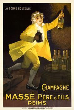 Auzuelle, Champagne Masse Pere & Fils, 1920 ca.