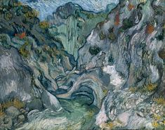 "Vincent Van Gogh, ""Ravine,"" 1889"