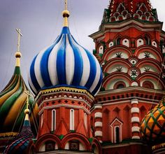 Moscow, the Church of the Intercession (St Basil's Cathedral, 1560)
