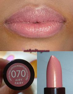 "Rimmel in ""Airy Fairy"" ♥ I have this color, and I love it!"