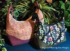 Make Hobo Bag Marichel Hobo Shoulder Bag PDF Sewing Bag Pattern- Includes 2 Sizes - A quick and easy sew - RLR Cr - Kylie, My Bags, Purses And Bags, Hobo Bags, Nylons, Hobo Bag Patterns, Gypsy Bag, Easy, Lining Fabric