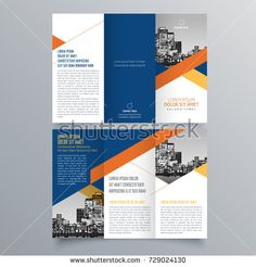 Free Editable Tri Fold Brochure Template  Free Tri Fold Brochure