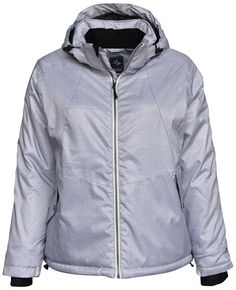 9bf6d2c6ea4 Pulse Women s Extended Plus Size Ivy Insulated Snow Ski Jacket 1X 2X 3X 4X  5X 6X White