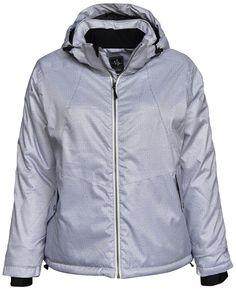 New Pulse Womens Plus Size 1X 2X 3X 4X 5X 6X Vixen Insulated Snow Coat Grey