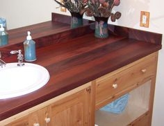 Timber Frame Countertops | New Energy Works