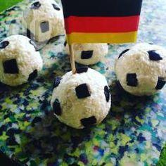 Fußball-Käsepralinen @ de.allrecipes.com