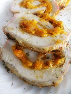 Butternut Squash - Filled Roasted Pork Loin - Proud Italian Cook