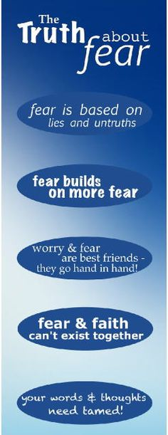100 Days of Praise: The truth about fear!