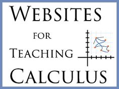 Teaching your teen Calculus?  These websites can help.