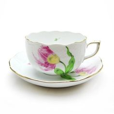 Herend Spring PDB Bakoni tea cup and saucer