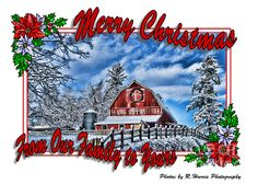 Merry Christmas Greeting Card (Click photo twice to order)