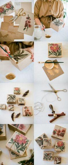 Теперь я умею не хуже проворного дизайнера… Прелестные идеи для упаковки подарков!