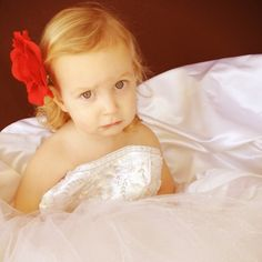 take a picture of your daughter in your wedding dress