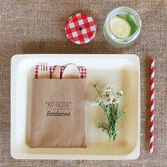 """Imprimible """"Kit Barbacoa"""" - La Fiesta de Olivia Barbacoa, 75th Birthday, Kit, Canapes, Buffet, Picnic, Zero Waste, Tableware, Bbq Ideas"""