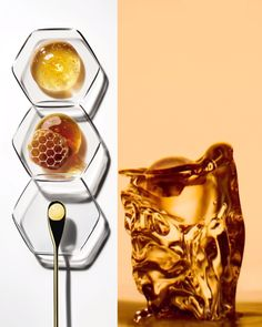 Guerlain Abeille Royale We call this precious honey and royal jelly blend Black Bee Repair Technology Honey Cosmetics, Oriflame Cosmetics, Oriflame Beauty Products, Creme Anti Rides, Black Bee, Royal Jelly, Cosmetic Design, Forever Living Products, Motion Design