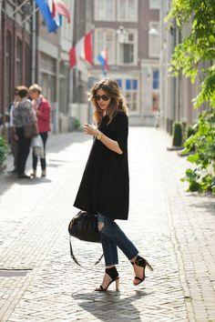 Многослойность в одежде: платье или юбка поверх брюк/Real Fashion/Дом Моды