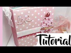 Tutorial: miniálbum iniciación con Pink de Pega Papel o Tijeras