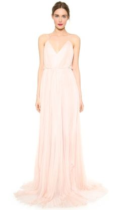dreamy blush pink gown