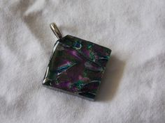 Witchy Woman Pendant by RiffRaffGlass on Etsy