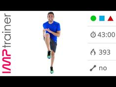 Workout Brucia Grassi, allenamento a casa a media intensità costante - YouTube