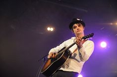 Pete Doherty and Carl Barat have the sound turned down on them during 'Time For Heroes' Carl Barat, Pete Doherty, Reading Festival, The Libertines, Photo Pa, Hero, Songs, Concert, Music