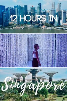 Got a long connecting flight in Singapore? Don't waste it! Discover how to organise your Singapore layover and maximise 12 hours or less in this beautiful city! Romantic Resorts, Romantic Destinations, Top Travel Destinations, Romantic Travel, Amazing Destinations, Travel Advice, Travel Guides, Travel Tips, Paradise City
