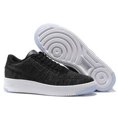 2ee65ad090e068 2018 Legit Cheap Nike Air Force 1 Ultra Flyknit Low Shoes Nike Women s Air  Force 1 Low Ultra Flyknit Black White Nike Air Force 1 Low Foot