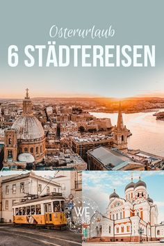Easter holidays City break: 6 beautiful city trips at Easter # Travel Tips . Holiday City, Holiday Travel, Wanderlust Travel, Us Travel, Travel Tags, Reisen In Europa, Excursion, Europe, Easter Holidays