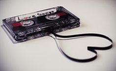 casette tape  You could skip songs and still get it twisted up