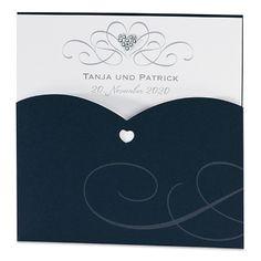 Hochzeitseinladung Zara Pockettasche