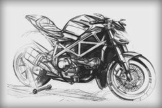 Ducati I love sketch concepts!