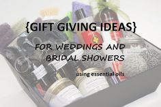 Wedding season is here which means more opportunities to share dōTERRA! Give the newlyweds a gift basket with homemade cleaning supplies made with essential oils to show them how easy and effective essential oils can be.    Read our blog post for ideas: http://doterrablog.com/essential-gift-giving-weddings-and-bridal-showers