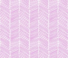 Freeform Arrows Large in orchid fabric by domesticate on Spoonflower - custom fabric