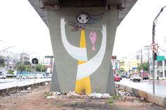 street art by speto | Speto São Paulo, 2011 © Speto Foto: METRÓPOLE PROJETOS