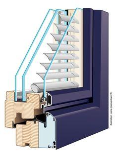 Paul Weston Associates - Project - Technical illustration - Glazing detail