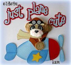 ELITE4U KAM Boy Tear Bear Premade Paper Piecing for Page Kit Album Mat Set   eBay
