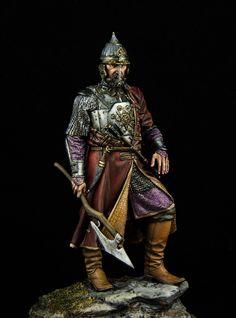 Yermak Timofeyevich, conqueror of Siberia