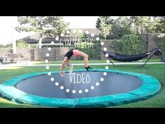 Gymnastik video #1 - YouTube