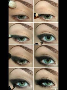 Dark emo makeup #MakeupTutorialEyeliner Emo Makeup, Makeup Art, Makeup Tips, Beauty Makeup, Makeup Hacks, Dark Makeup, Makeup Style, Makeup Ideas, Emo Eyeliner