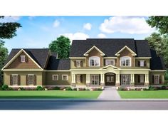 019H-0219: Two-Story Luxury House Plan